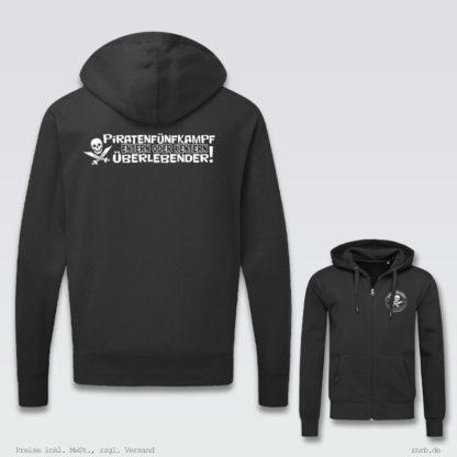 Darstellung: 5kampf-zip-hoodie-klassisch-ruecken-brust