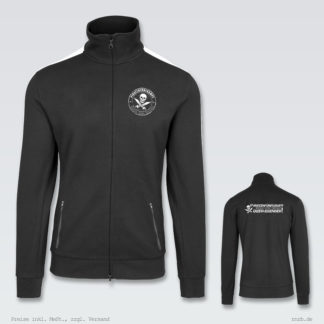 Darstellung: 5kampf-zip-trainingsjacke-klassisch-brust-ruecken