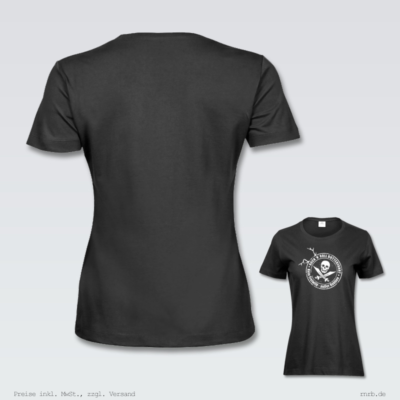 Darstellung: kein-freiwild-ausser-robben-shirt-tailliert-ruecken-brust
