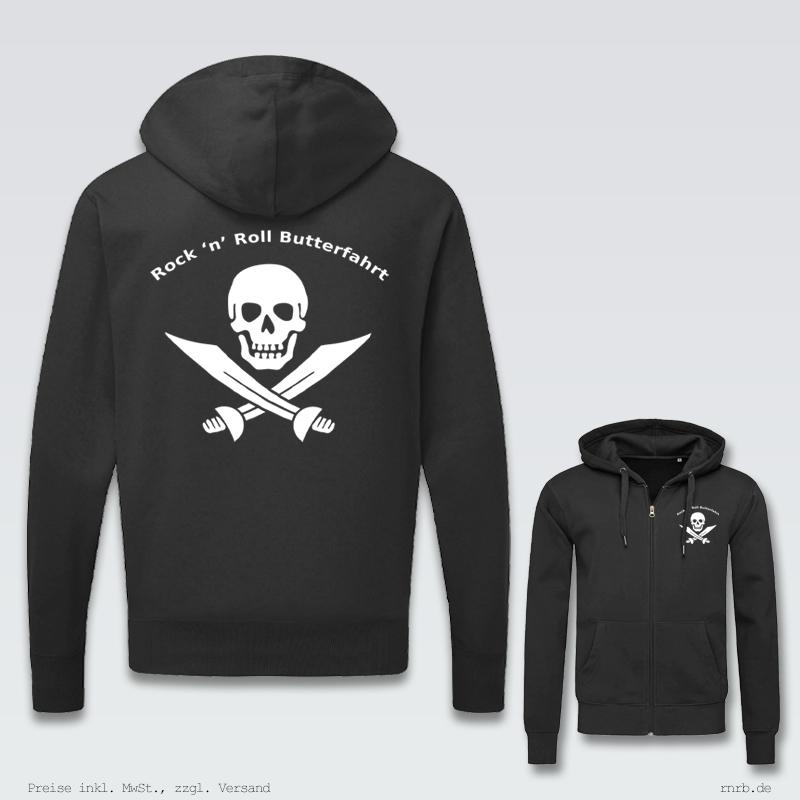 Darstellung: rnrb-logo-zip-hoodie-klassisch-ruecken-brust