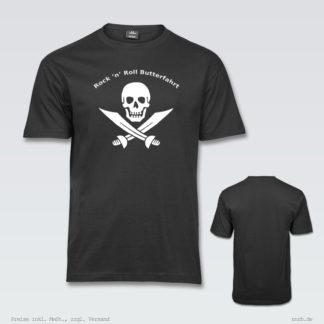 Darstellung: rnrblogo-shirt-klassisch-brust-ruecken