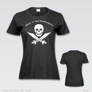 Darstellung: rnrblogo-shirt-tailliert-brust-ruecken