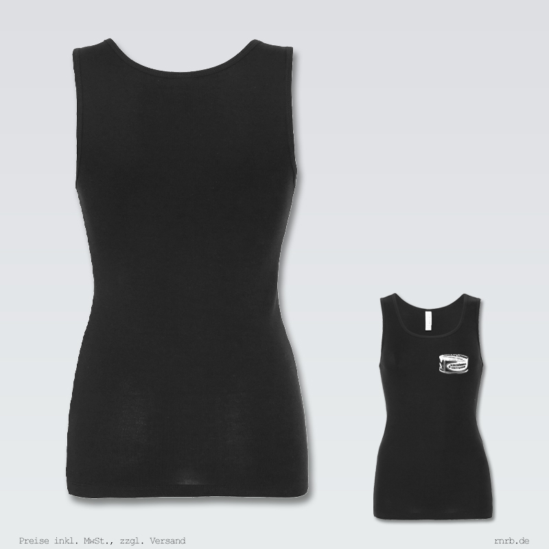 Darstellung: surstroemming-statt-kaviar-tank-topshirt-tailliert-ruecken-brust