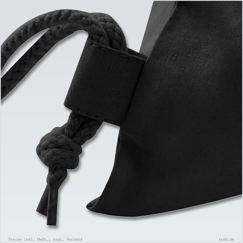 Darstellung: vereinslogo-gymbag-sportbeutel-schwarz