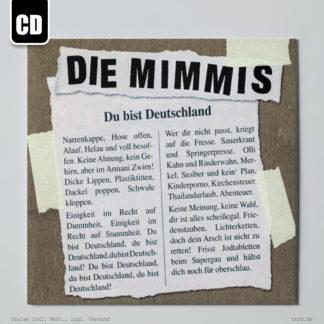 Dargestellt: die-mimmis-du-bist-deutschland-cd