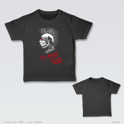 Darstellung: fun-punks-shirt-kids-brust-ruecken
