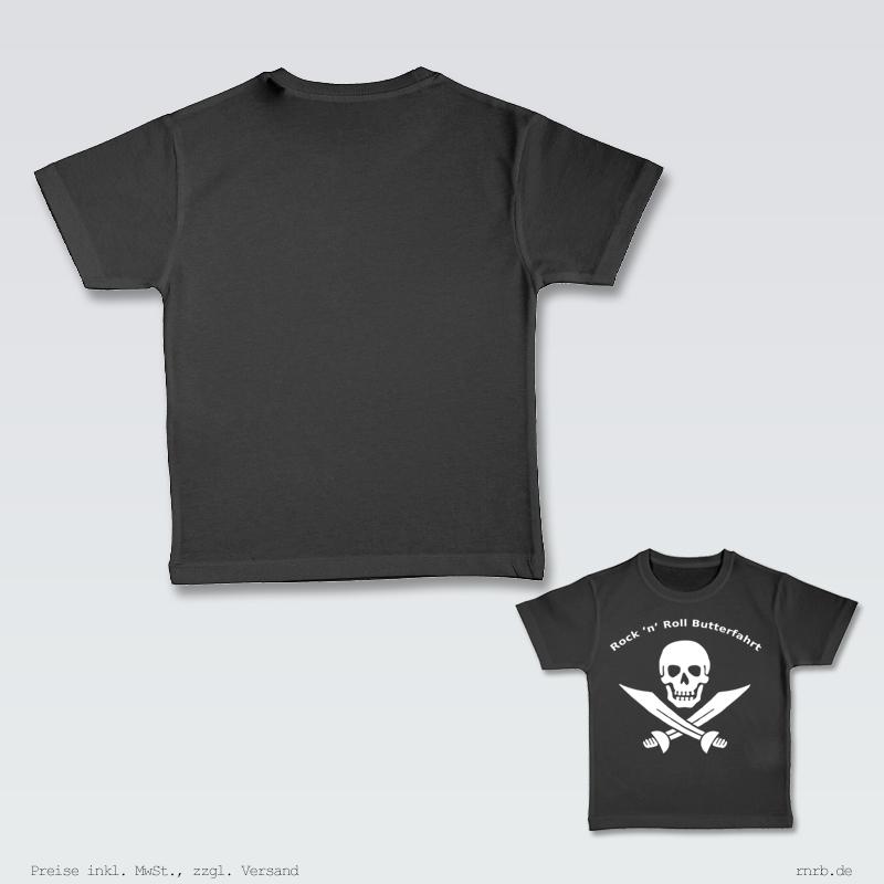 Darstellung; rnrblogo-shirt-kids-ruecken-brust.