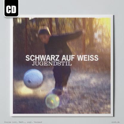 Dargestell: schwarz-auf-weiss-jugendstil-cd