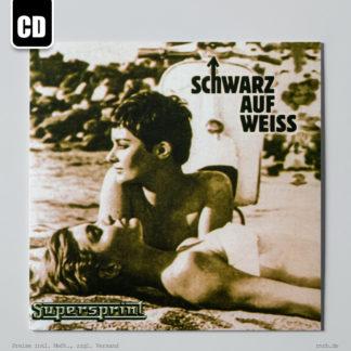 Dargestell: schwarz-auf-weiss-supersprint-cd
