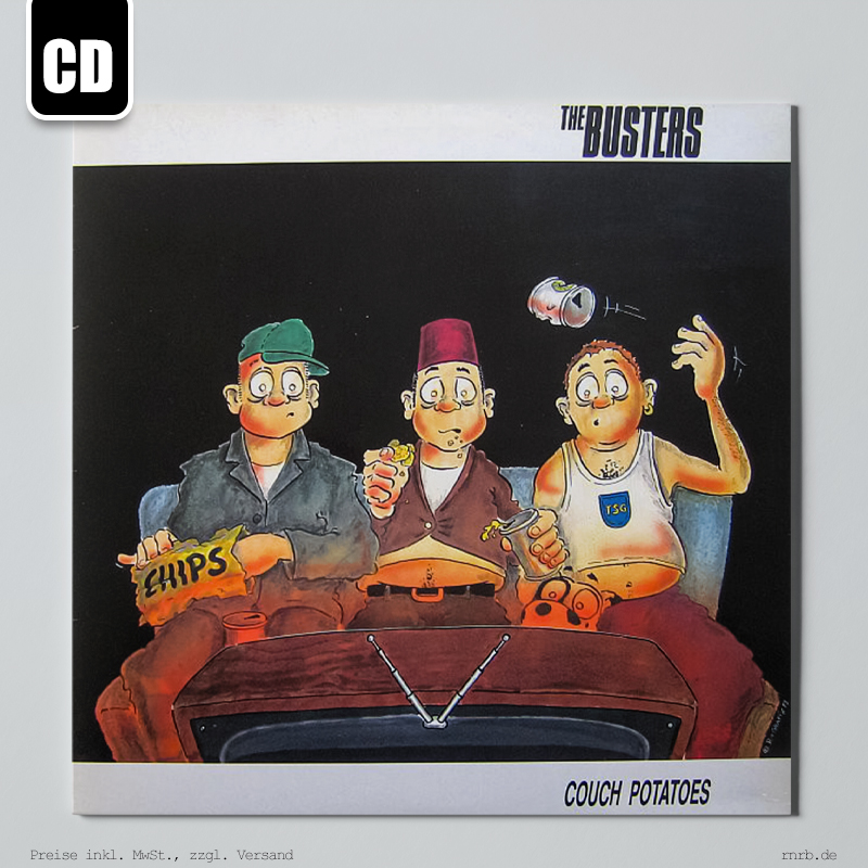 Dargestellt: the-busters-couch-potatoes-cd